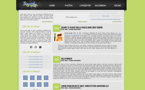 Free wordpress theme [Fansite] SimplyDream by anime1991