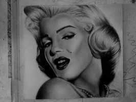 Marylin Monroe by HarryMichael