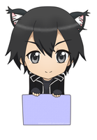 Project Chibi SAO Tag - Kirito by khimmymiii