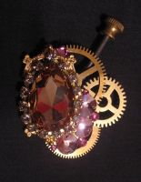 Steampunk Brooch - REWORK by Space-Invader