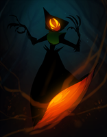 CDC day 21 - Monster by flatw00ds