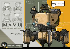 |MAMU| - Base Frame Variant by FrostKnight-IcE