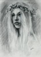 Portrait in Charcoal by Lydia888