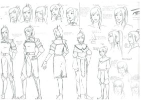Princess Zeiryuu character sheet by mizzizabellaSMS