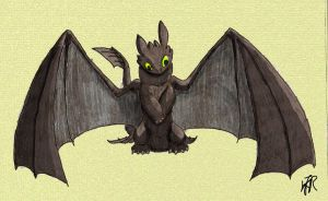Toothless by Shadow-and-Flame-86