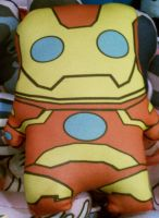Iron Man Plushie by Cyber-Scribe-Screens