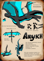 Arykh Reference Sheet by Wyldfire7