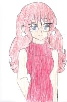Fully Reformed Philia and Red Sweater Dress by Chicken-Yuki