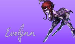 Very suggestive Masq, Evelynn wallpaper by Rileeru