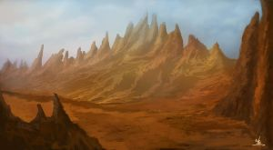 Red Mountain by Narandel