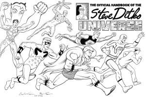 Ditko Universe by fraimworks by TheDeviantMakepeace