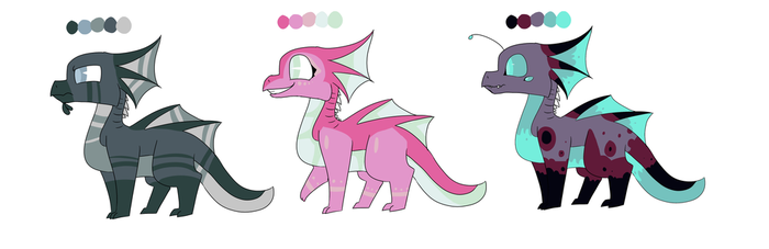 SeaStrider Adopts, OPEN by StrawberryMuffin37