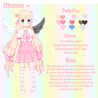 Miimii Reference Sheet by lummina