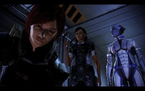 ME3 CDLC - Ellis Shepard, Traynor and Liara by chicksaw2002