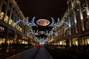 A Regent St Christmas by parallel-pam