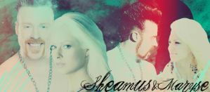 Sheamus and Maryse banner- by verusImmortalis