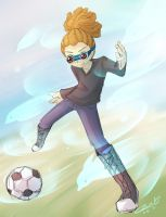 Penguin soccer by caninelove