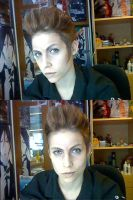 Make Up Exercise - Balthier by diriagoly