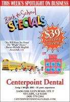 Centerpoint Dental Back to School Ad by Joe5art