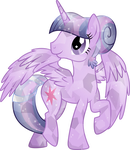 Crystal Princess Twilight Sparkle by TheShadowStone