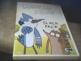 my Regular Show DVD by ImperialHope