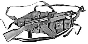 Chinese AK-47 with Chest Rig by rcbif