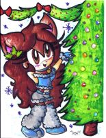 Gift: Merry Chrismtas Calley by Lilymint7