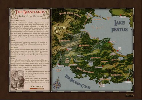 The Beastlands by ravells
