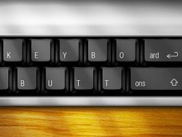 Keyboard Buttons by Benjamin-Dandic
