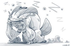 Alpha Sapphire by Curly-Artist