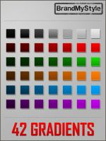 PHOTOSHOP GRADIENTS v1.0 by brandmystyle