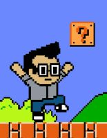 8-bit Version of ME by mikenunoz