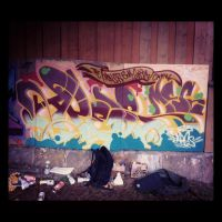 Painting day with Janek by THISISAPES