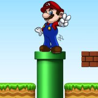 Super Mario Bros Color by omar-sin
