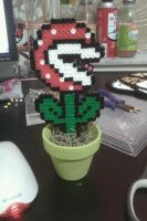Piranha Plant in a Pot by cracklebyte