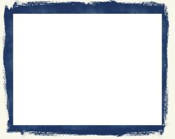 Cyanotype Border by wwitch22