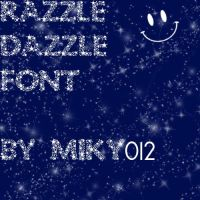 Razzle Dazzle Font by Miky012