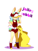 Jailey Rabbit by RanchingGal
