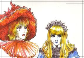 Yu-ki and Mana +Malice Mizer+ by teamsugoi1