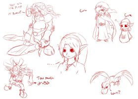 A Link To The DoodleZ by TheGamerDracul