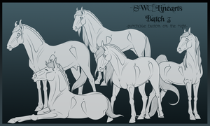 Lineart Batch 3 by SWC-arpg