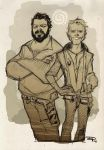 Bud Spencer and Terence Hill by DenisM79