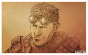 GoW - Damon Baird, oh yeah! by the-evil-legacy
