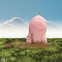Happy as a... by curious3d
