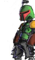 Boba Fett, 2 by Ayej