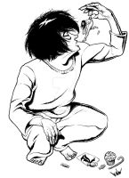 L Lawliet 1 of 2 by ayelid