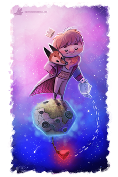 Day 813# Little Prince by Cryptid-Creations
