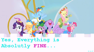 Everything is FINE....Or is it? by ShatterKirin