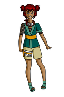 Koshi's Genin Outfit by SublimeSalt