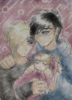 Adommy family request by KarolaKH